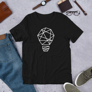 Let there be Light Black T-shirt